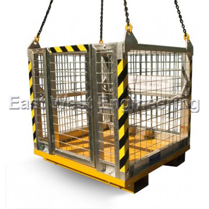 CRANE CAGE 4 MAN #301345 | LIFT and SHIFT > CAGES & SKIPS