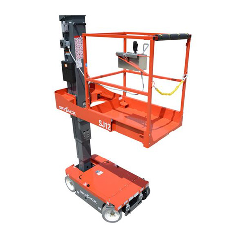 VERTICAL MANLIFT 3.7M SELF PROPELLED - code:100065