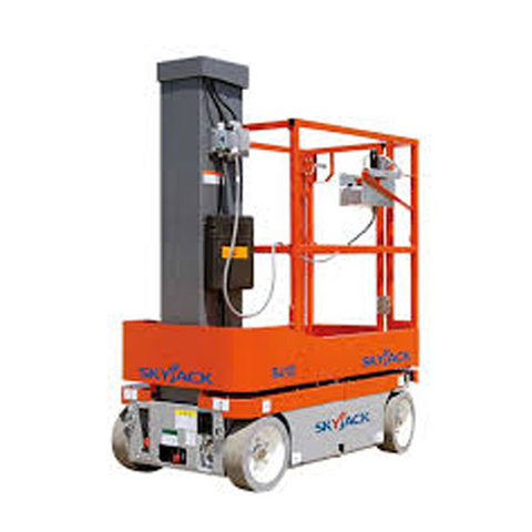 VERTICAL MANLIFT 4.8M SELF PROPELLED - code:100070