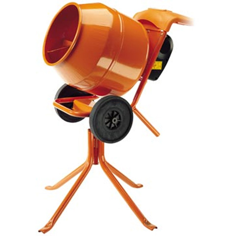 CONCRETE MIXER - 140L (3CU.FT) 240V TOWABLE - code:180550
