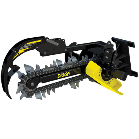 MINI LOADER - TRENCHER ATTACHMENT 150MM  - code:200980