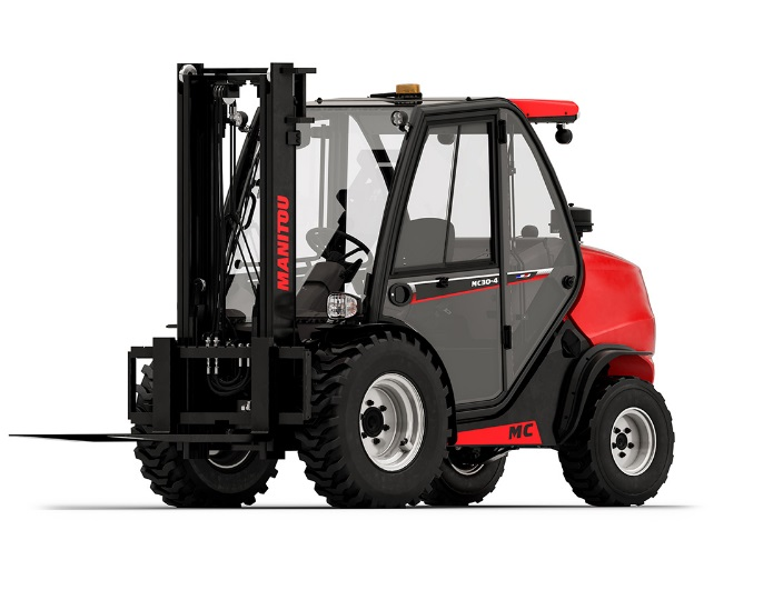 FORKLIFT - 3.5T ROUGH TERRAIN 4WD - code:302605