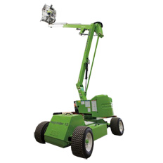 BOOMLIFT 10M (34FT) DIESEL/ELECTRIC 4WD