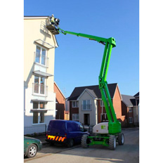 BOOMLIFT - 15.2M (50FT) DIESEL/ELECTRIC (HYBRID) 4WD
