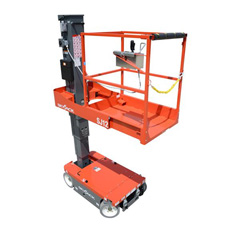VERTICAL MANLIFT 3.7M SELF PROPELLED