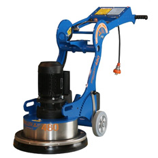 CONCRETE GRINDER -  SINGLE HEAD SATELITE 240V