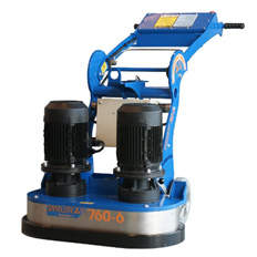 CONCRETE GRINDER - DOUBLE HEAD  415V