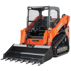 SKID STEER  - TRACKED LOADER