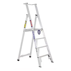 PLATFORM LADDER 3.6M (12FT)