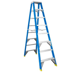 STEP LADDER 2.4M (8FT) FIBREGLASS