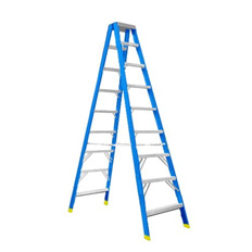 STEP LADDER 3M (10FT) FIBREGLASS