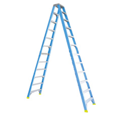 STEP LADDER 3.6M (12FT) FIBREGLASS