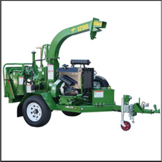 WOOD CHIPPER - 220MM DIESEL
