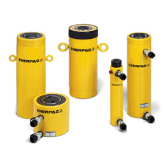 HYDRAULIC CYLINDER DOUBLE ACTING 200T / 457MM