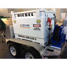 FUEL TANK - DIESEL  1000L TOWABLE