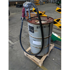 200L FUEL DRUM PUMP - MANUAL