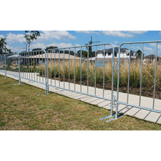 CROWD CONTROL BARRIER (STEEL)